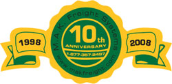 M.A.K. Freight Systems 10th Anniversary